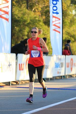 running; racing